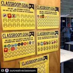 Classroom management for upper elementary can be a challenge. Try this teacher vs students classroom management game - 4th Grade Classroom, Classroom Community, Future Classroom, Elementary Classroom Rules, Classroom Data Wall, Elementary Schools, Goals Sheet, Education Positive, Health Education