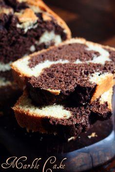Le Pétrin: Le Marbré Chocolaté du Goûter