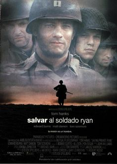 SAVING PRIVATE RYAN is a 1998 American epic war film set during the invasion of Normandy in World War II. It was directed by Steven Spielberg, starring Tom Hanks and Matt Damon. One of the best war movies of all time. Film Movie, See Movie, Movie List, Hard Movie, Epic Movie, Movie Scene, Matt Damon, Old Movies, Great Movies