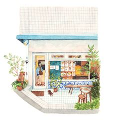 Part of the project '21 Days in Japan: An Illustrative Study of Japanese Cuisine'