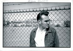 Morrissey during the 'Southpaw Grammar' era ― photo by Linder Sterling.