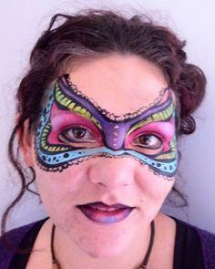 Face Painting Glamorous Masks | Face Paint Shop Online