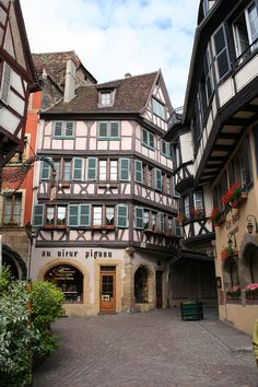 ✯ Half Timbered House - Alsace, France