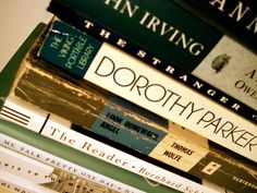: some of fave authors Dorothy Parker, Blue Christmas, Inspire Me, Authors, Bucket, Reading, My Love, Day, Music