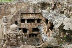 1500 years old ellora caves in maharashtra