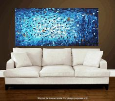 72 abstract  art painting large painting  von jolinaanthony auf Etsy, $369.00