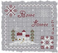 Point de croix *<3* Cross stitch - Christmas