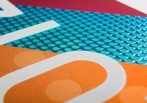 DISTRIPAPER Tarjetas Papel metalizado con barniz brillo 3D