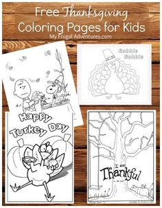 Free Printable Thanksgiving Coloring Pages And Activities Lots Of Great Options To Keep The Kiddos