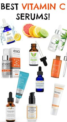 THE BEST VITAMIN C SERUMS- FOR EVERY SKIN TYPE!