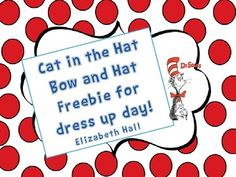 This is something I do with my kiddos every year and they love it! It is very easy and the kids enjoy dressing like that crazy cat! I ask my students to dress in black but it's not necessary. It's a great way to kick off or celebrate your Dr. Seuss unit!