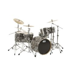 Are you looking for a new drum set? You can find a selection of DW DRUMS including this DW COLLECTOR'S SERIES 5-PIECE SHELL PACK IN BLACK OYSTER WITH CHROME HARDWARE (free shipping) at    http://jsmartmusic.com