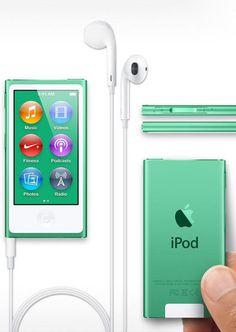 Apple 16GB iPod nano (Green) (7th Generation)