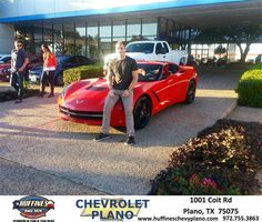 #HappyAnniversary to Dwight Shewchuk on your 2014 #Chevrolet #Corvette Stingray from Everyone at Huffines Chevrolet Plano!