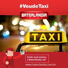 Ei, vai sair hoje a noite? Se for beber e curtir com os amigos, que tal gastar a bateria do taxi?