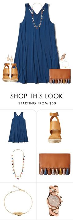 """""""☯︎"""" by kaley-ii ❤ liked on Polyvore featuring Hollister Co., Dolce Vita, Ben-Amun, Rebecca Minkoff, MICHAEL Michael Kors and Kendra Scott"""