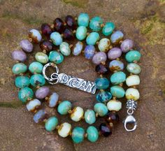 RESERVED for BECKIE by Mollymoojewels on Etsy