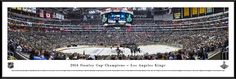 2014 Stanley Cup Panoramic - Kings Poster