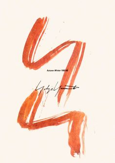 ヨウジヤマモト089 1992-93年秋冬カタログ 山本耀司スタイル画
