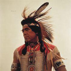 Crow Indian Dancer - James Bama