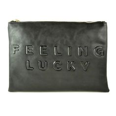 Feeling Lucky Clutch from storenvy $35