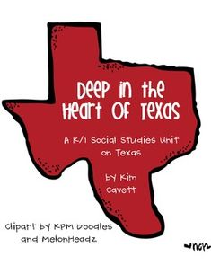 Texas social studies unit