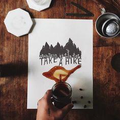 Take a hike - byChristian Watson