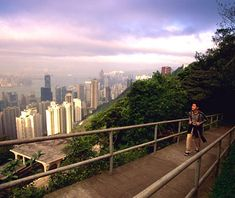 The Hong Kong Trail, Victoria Peak, Hong Kong. Oh, the views! Photography will be had :) When to Go: The mildest, driest months are mid-September to late February; visit during the Autumn Festival (late September/early October), when street vendors sell tasty moon cakes on almost every corner and the river fills with floating paper lanterns