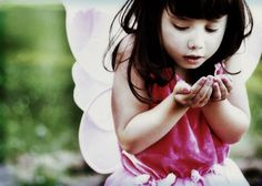 Fairy Party Games and Ideas — Making a wish