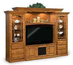 Amish Heritage Six-Piece Entertainment Center Stunning home theater entertainmen. - Trend Home Entertainment 2020