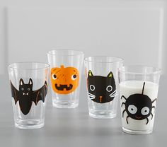 Halloween Tumblers | Halloween Table Decor | Pottery Barn Kids