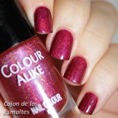 Colour alike 503 - Holográfico rojo