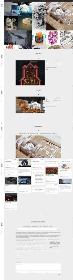 Stack   Portfolio Template. WordPress Portfolio Themes. $39.00