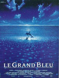 Le Grand Bleu est un film dramatique français réalisé par Luc Besson, sorti en 1988. Le film est inspiré des vies de Jacques Mayol et Enzo Maiorca, célèbres champions de plongée en apnée. MPT