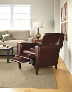 Harper Leather Recliner - Recliners & Lounge Chairs - Living - Room & Board