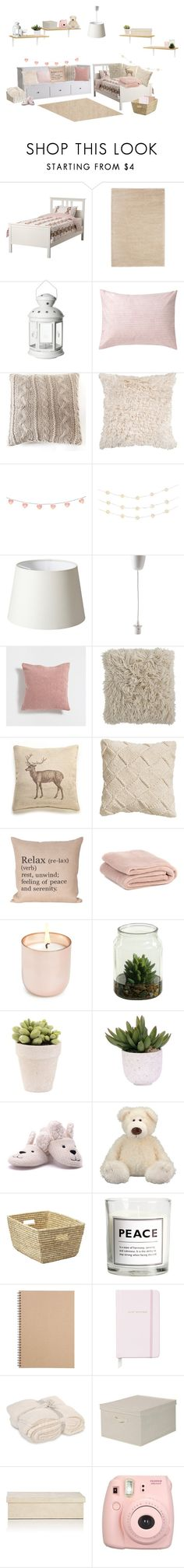 """""""Sisters' Dream Bedroom #1"""" by momockapai ❤ liked on Polyvore featuring interior, interiors, interior design, home, home decor, interior decorating, DwellStudio, Pom Pom at Home, Order Home Collection and Zara Home"""