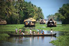 Kerala Backwater and Houseboat