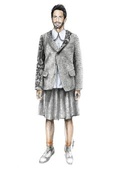 Fashion Illustration by Anoma Paleebut