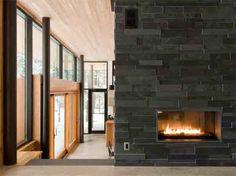 Fireplace slate