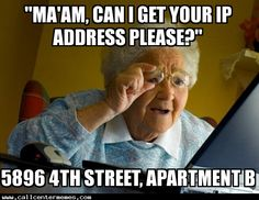 I always get this when asking for the IP address