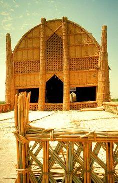 Marsh Arabs long house
