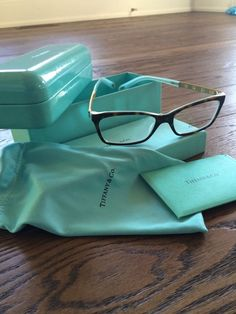 cb088002d7 Authentic Tiffany Eyeglass Frames TF2103B  TiffanyCo Tiffany Blue Box