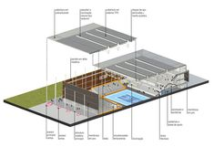 Youth Arena,Diagram
