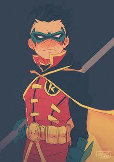 Robin. Damian Wayne.