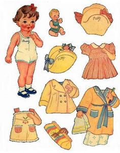More paper dolls...
