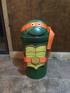 Ninja Turtle Valentines Box Random Valentines For