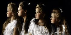 The last Tzar of Russia daughters. Ever since I was 8 I have been fascinated by there story