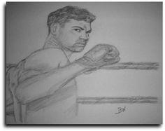 BOXER/JACK DEMPSEY/SPORTS REALISM PENCIL DRAWING SMALL11X14 BY ARTIST BW #Realism Pencil Drawings, Art Drawings, Sports Drawings, Boxer, Artist, Artists, Boxer Pants, Pencil Art, Art Paintings