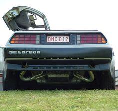 My Dream Car, Dream Cars, Dmc 12, Dmc Delorean, Bttf, Yellow Car, American Sports, Car Photos, Grey Leather