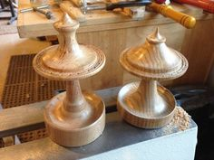 Lathe Projects, Wood Turning Projects, Wood Projects, Woodworking Journal, Beginner Woodworking Projects, Diy Earring Holder, Vintage Jewelry Crafts, Wooden Christmas Ornaments, Wood Vase
